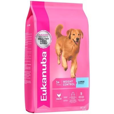 Eukanuba Weight Control Large Breed Adult Dog Food 15 KG