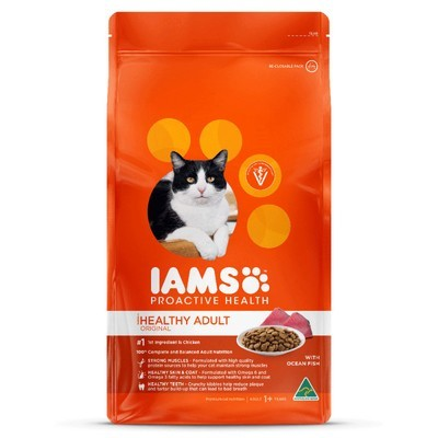 Iams Adult Ocean Fish and Chicken Cat Food