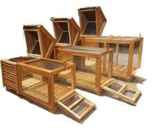 Rabbit / Guinea Pig Hutch Single Storey Small Animal Cages