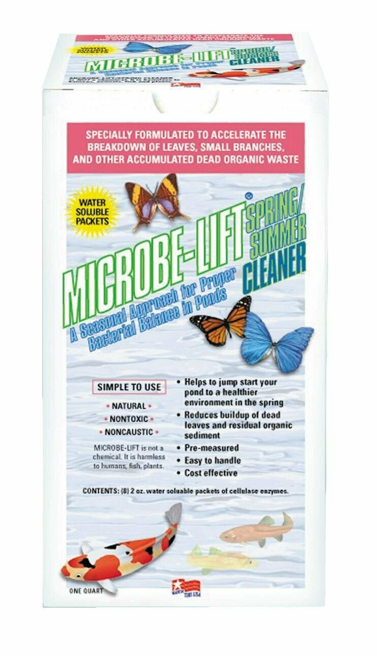 Microbe-Lift Spring Summer Cleaner 454g