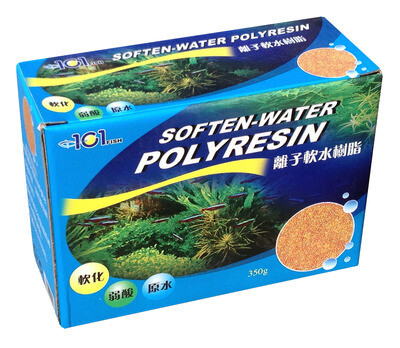 Fish 101 Filter Media Polyresin Water Softener 350gm