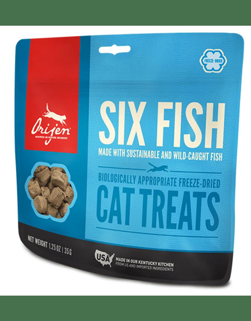 ORIJEN Six Fish Dried Cat Treats 35gr