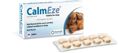 Calmeze Tablets for Dogs 30 Tabs
