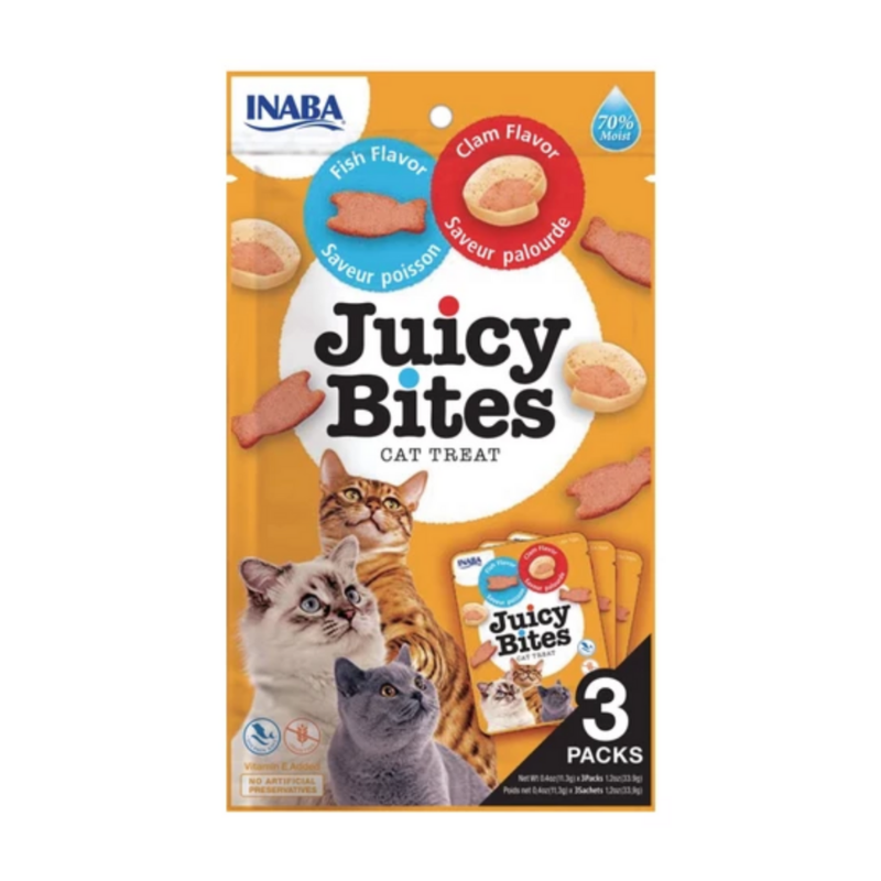Juicy Bites Cat Treats 3 Packs