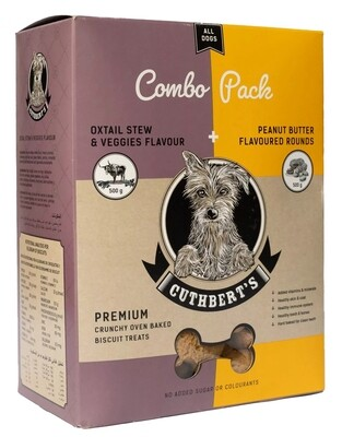 Cuthberts Combo Pack Dog Biscuits 1KG