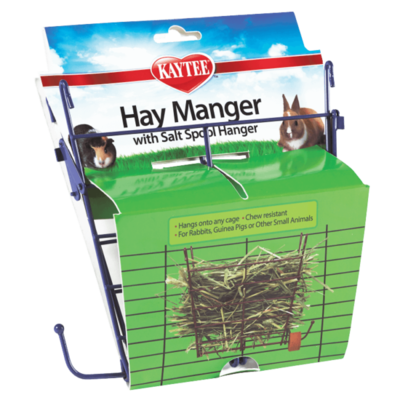 Kaytee Hay Manger Feeder with Salt Hanger