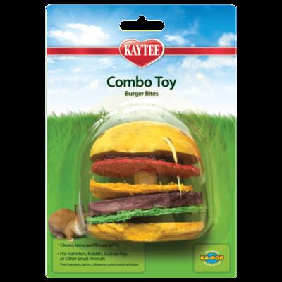 Kaytee Combo Toy Crispy & Wood Hamburger