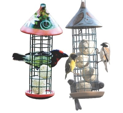 Elaine's Birding Mini Ball Tower Feeder