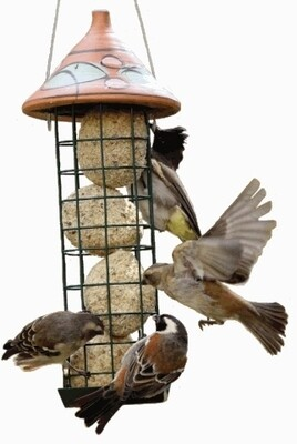 Elaine's Birding Ball Tower Feeder