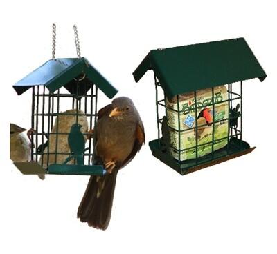 Elaine's Birding Metal Suet Slab Feeder