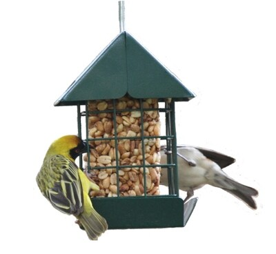 Elaine's Birding Peanut Tower with Peanut Block Refill