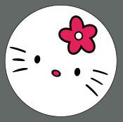 Pet ID Tag - Hello Kitty