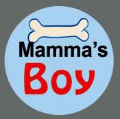 Pet ID Tag - Mamma's Boy