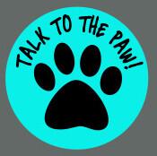 Pet ID Tag - Talk To The Paw!