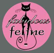 Pet ID Tag - Fabulous Feline