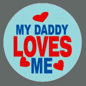 Pet ID Tag - My Daddy Loves Me