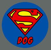 Pet ID Tag - Super Dog
