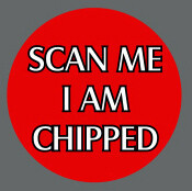 Pet ID Tag - Scan Me I Am Chipped