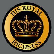 Pet ID Tag - His Royal Highness