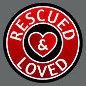 Pet ID Tag - Rescued and Loved