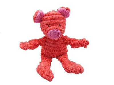 Pawz to Clawz Knot-Eaze Plush Pig Small
