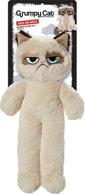 Grumpy Cat Floppy Plush Cat/Dog Toy