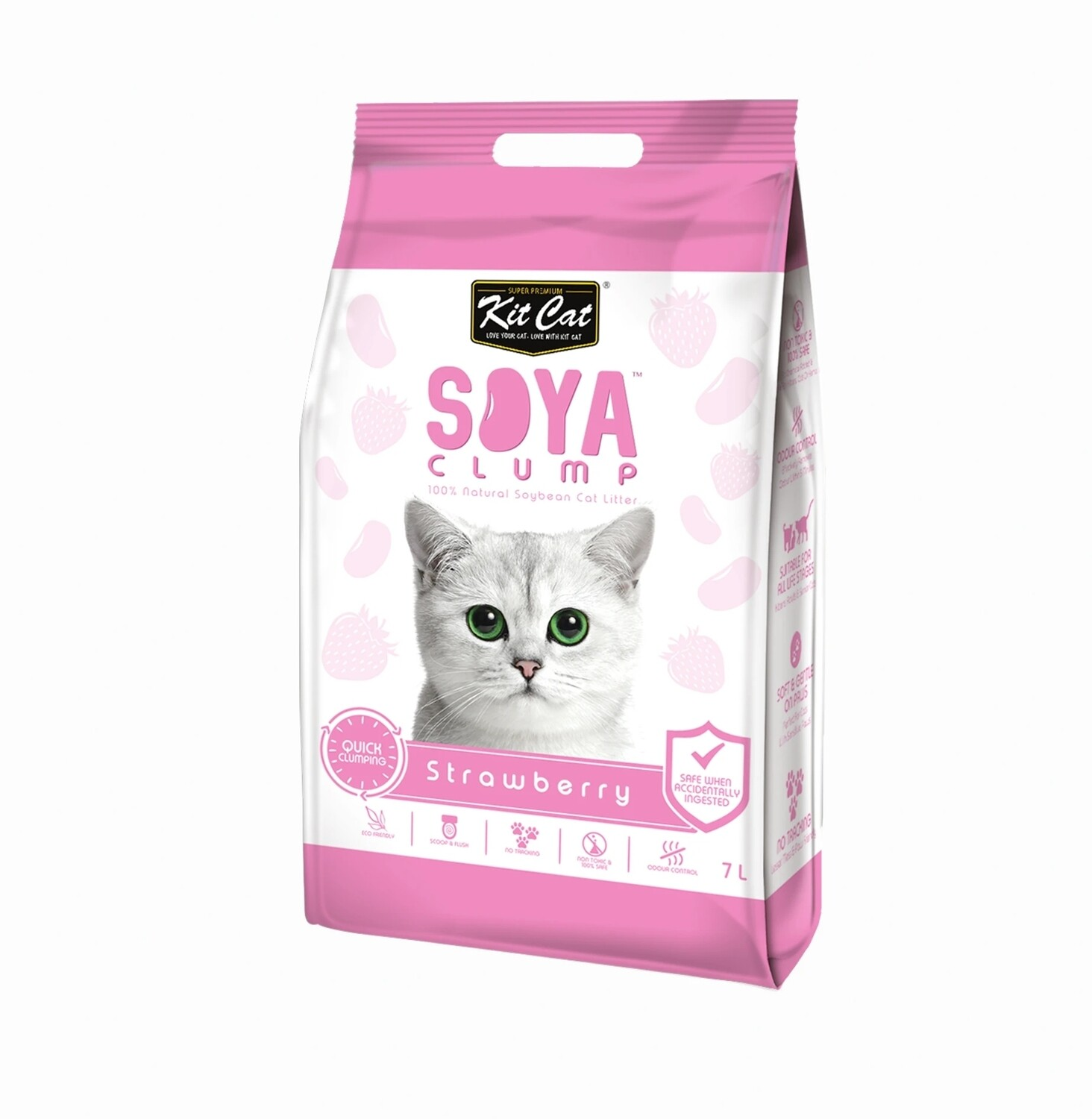 Kit Cat Soya Clump Cat Litter 2.8kg