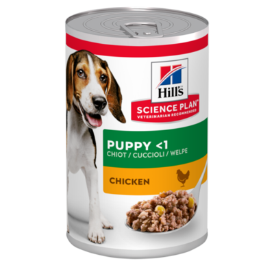 Hill's Science Plan Puppy Wet Food Chicken Flavour 370g