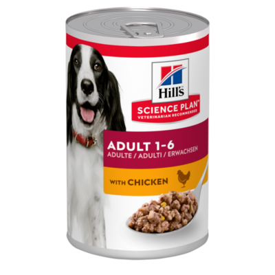 Hill's Science Plan Adult Wet Dog Food Chicken Flavour 370g