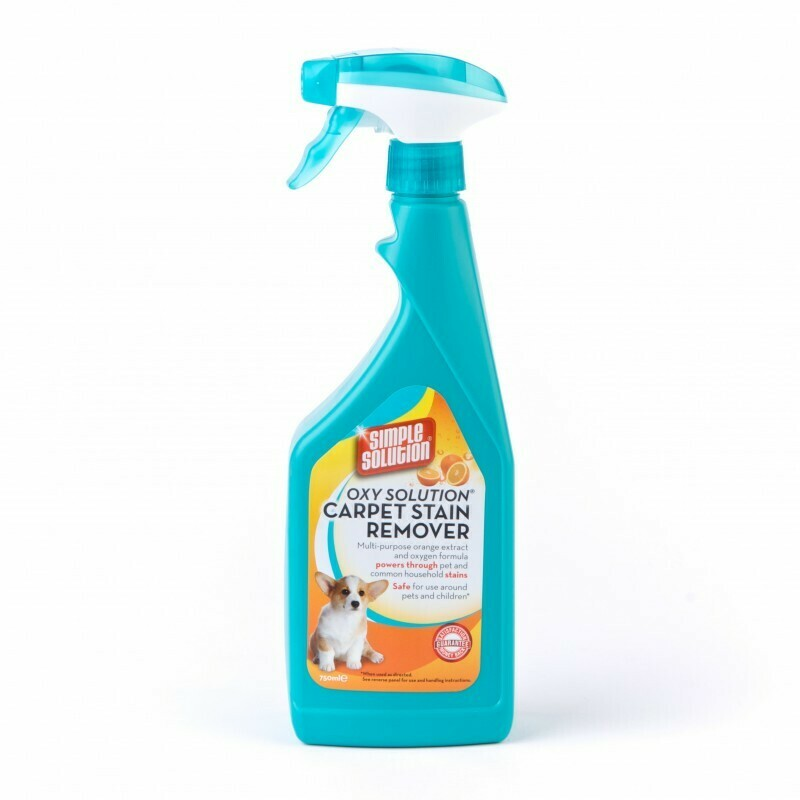 Simple Solution Oxy Solution Carpet Stain Remover 750ml