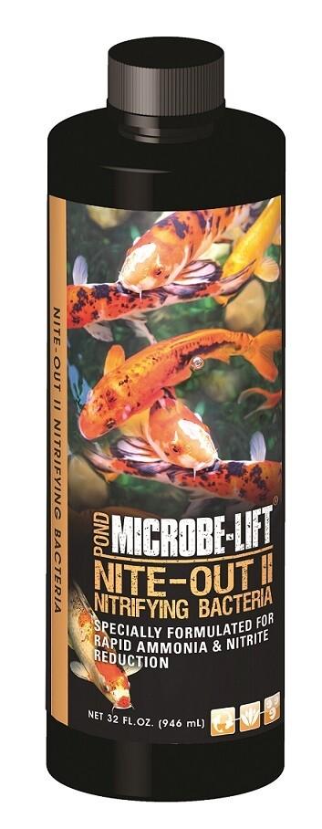 MicrobeLift Nite Out II Ponds - Rapid Ammonia & Nitrite Reduction