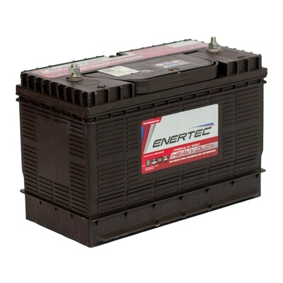 Enertec Battery 12V 105Ah - Replacement Battery for Ellies Inverters