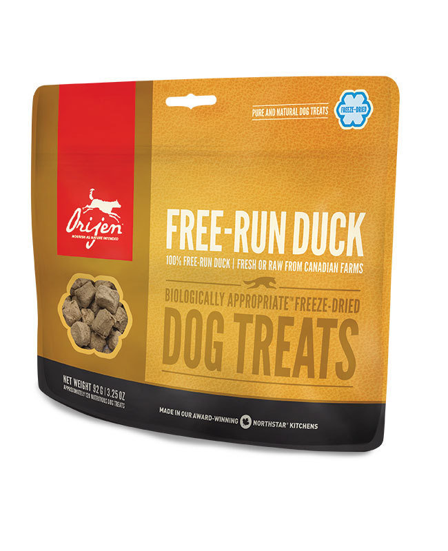 ORIJEN Free Run Duck Freeze Dried Dog Treats