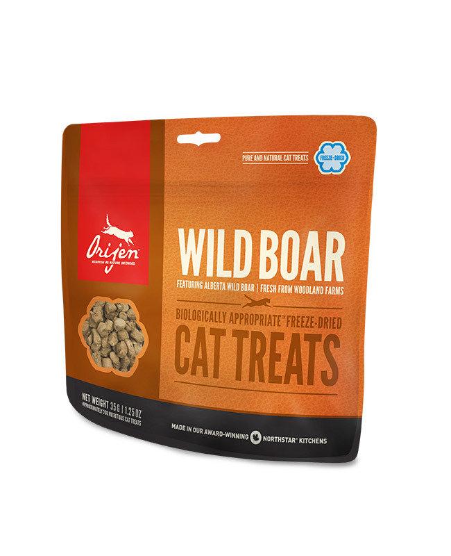 ORIJEN Wild Boar Freeze Dried Cat Treats 35gr