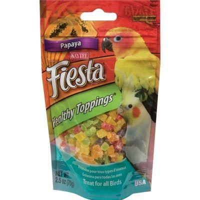 Kaytee Fiesta Healthy Toppings Papaya – All Birds