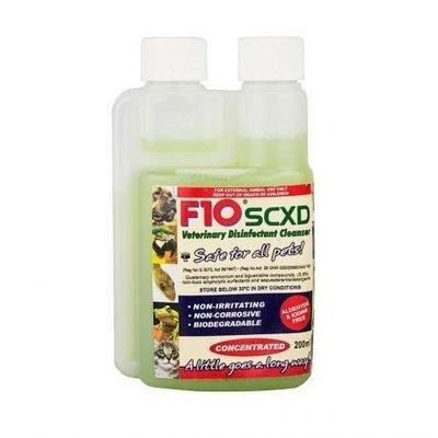 F10 SCXD Veterinary Disinfectant Cleaner