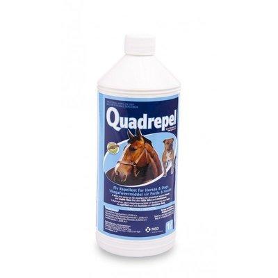 Quadrepel Fly Repellent & Tick Spray Treatment for Dogs & Horses 1L