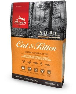 ORIJEN Cat and Kitten Food GRAIN FREE