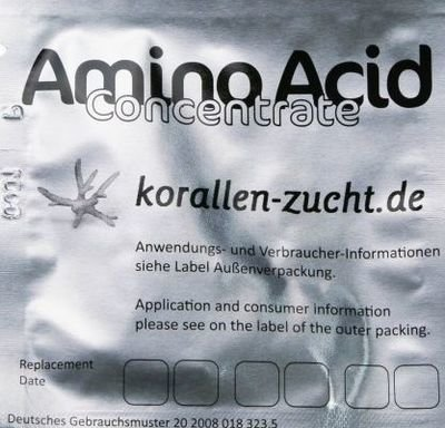 Korallen-Zucht Automatic Elements Amino Acid Concentrate