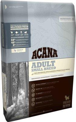 ACANA Heritage Small Breed Adult Dog Food