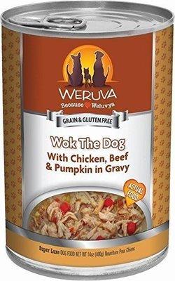WERUVA Wok the Dog – With Chicken, Beef and Pumpkin in Gravy Wet Dog Food