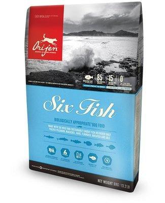 ORIJEN 6 Fish Dog Food GRAIN FREE