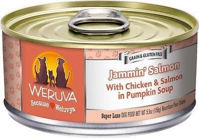 WERUVA Jammin Salmon Wet Dog Food