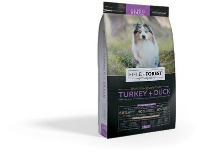 Montego Field and Forest - Turkey and Duck - All Breeds Adult Dog Food