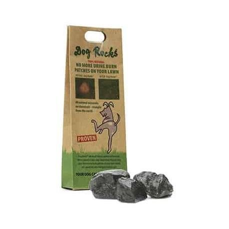 Dog Rocks Water Additive to Prevent Grass Burn Marks from Dog Urine