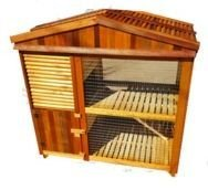 Rabbit / Guinea Pig Hutch Mini Mansion Small Animal Cage