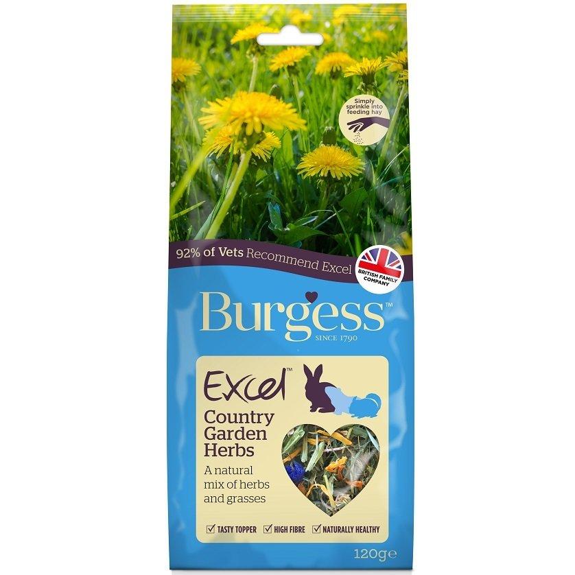 Burgess Excel Country Garden Herbs 120G