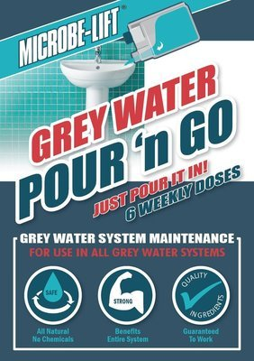 MICROBELIFT Grey Water Pour n Go - Grey Water System Maintenance