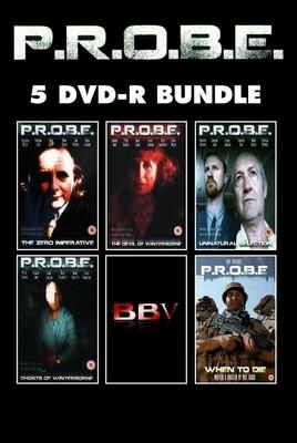 P.R.O.B.E. 5 DVD-R Bundle (DVD) SAVE MONEY