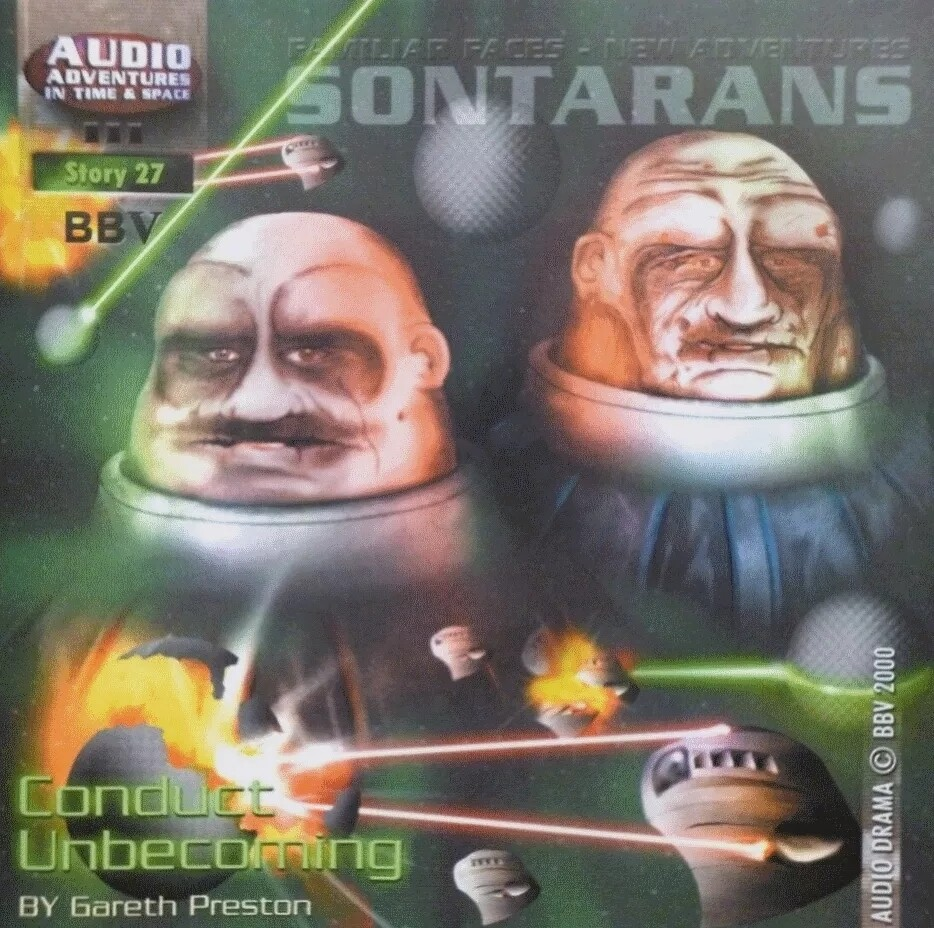 Sontarans: Conduct Unbecoming (CD)